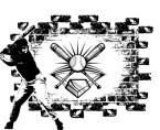 Baseball Brick Wall design